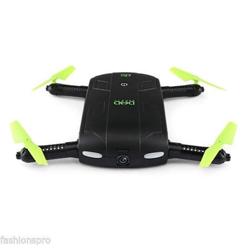 Sulankstomas dronas su kamera