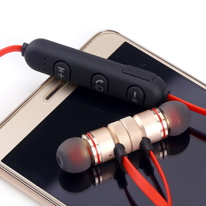 Belaidės Bluetooth ausinės su magnetais