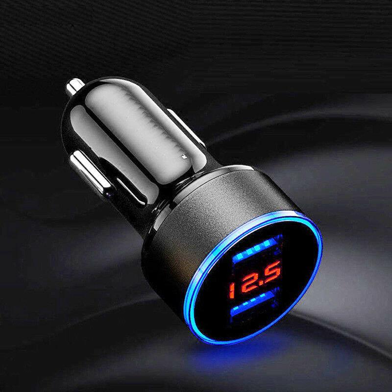Dvigubas USB kroviklis / adapteris