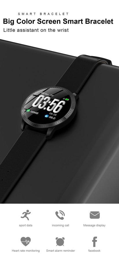 Išmanusis sportinis laikrodis LEMFO CF