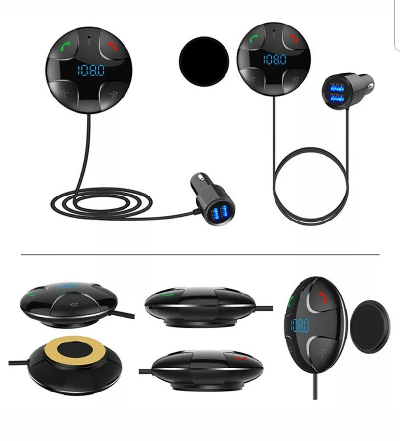 Laisvų rankų įranga / Bluetooth FM transmiteris