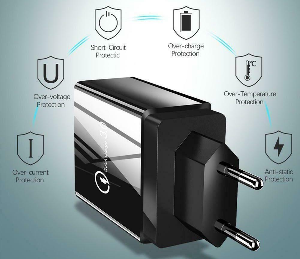 USB kroviklis 3+1