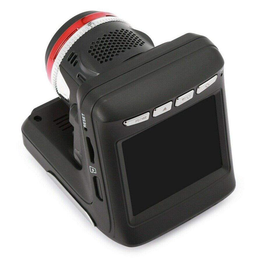 Vaizdo registratorius su Radarų detektoriumi