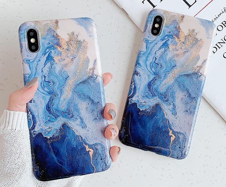 """iPhone XS telefono dėkliukas """"Sea"""""""
