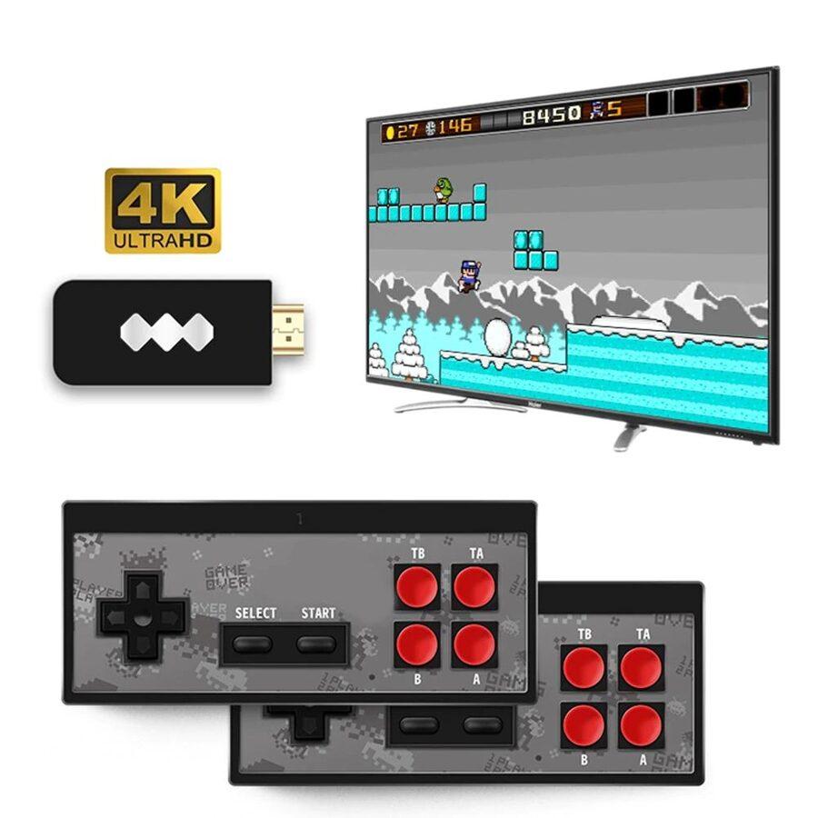 Retro žaidimų konsolė / kompiuteris