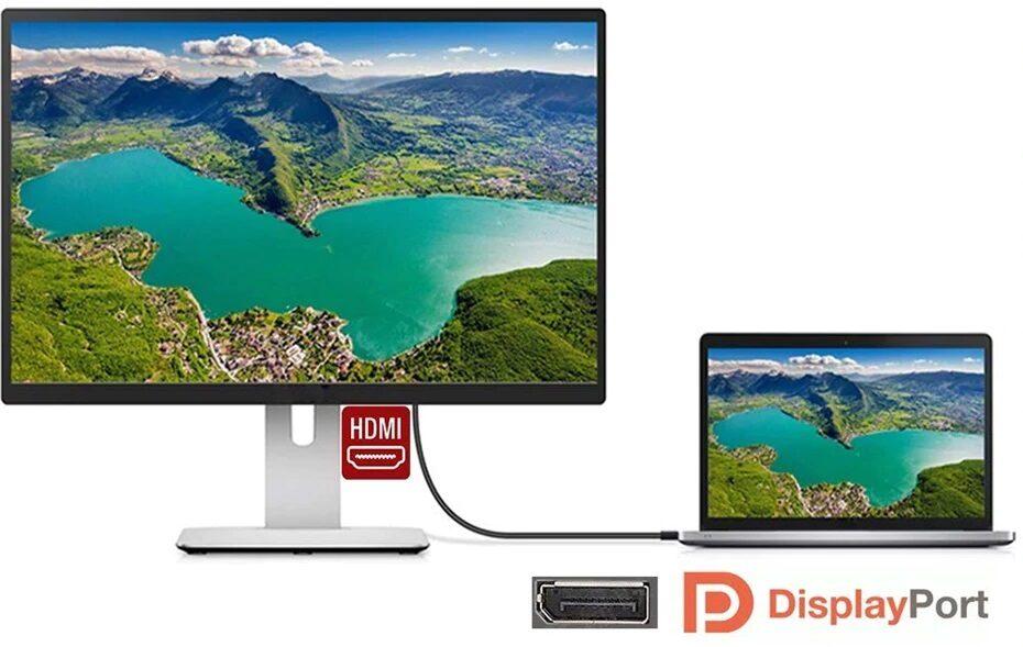 DP - HDMI kabelis 3m