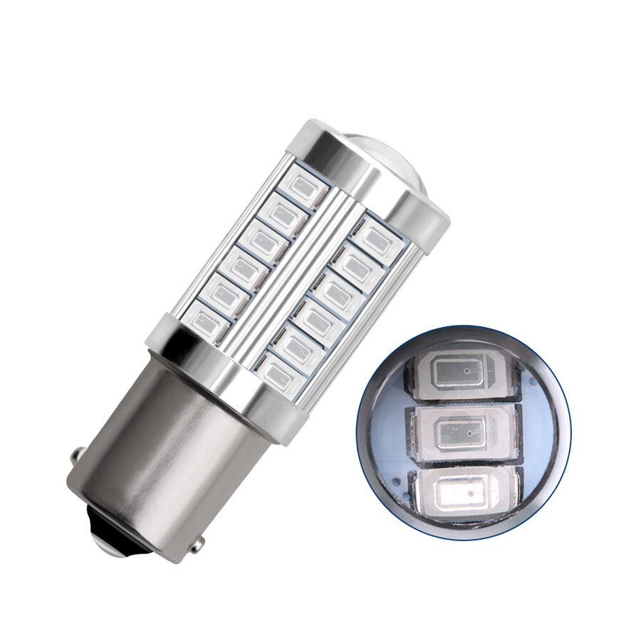 LED lemputė P21W BA15S 1156