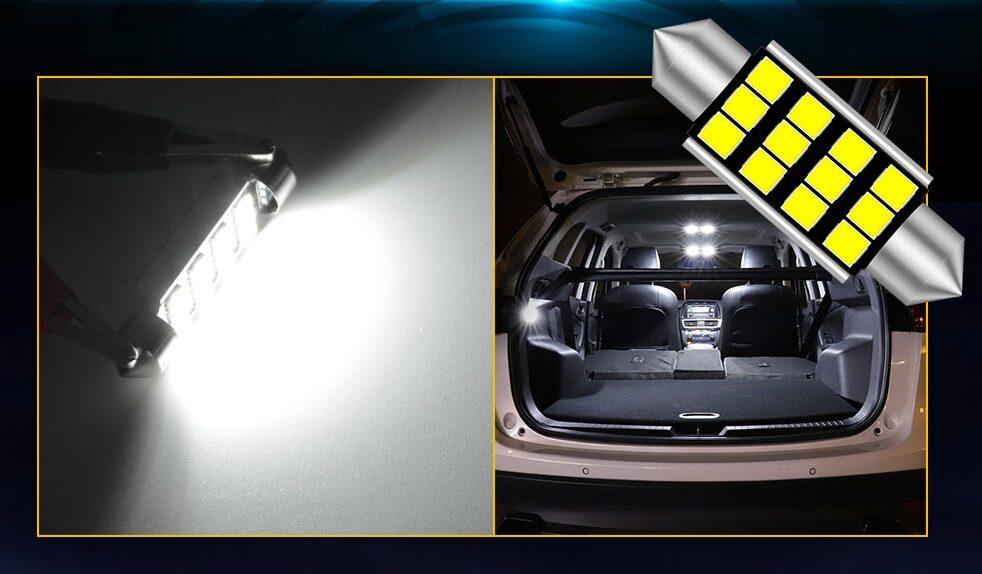 C5W C10W LED lemputė