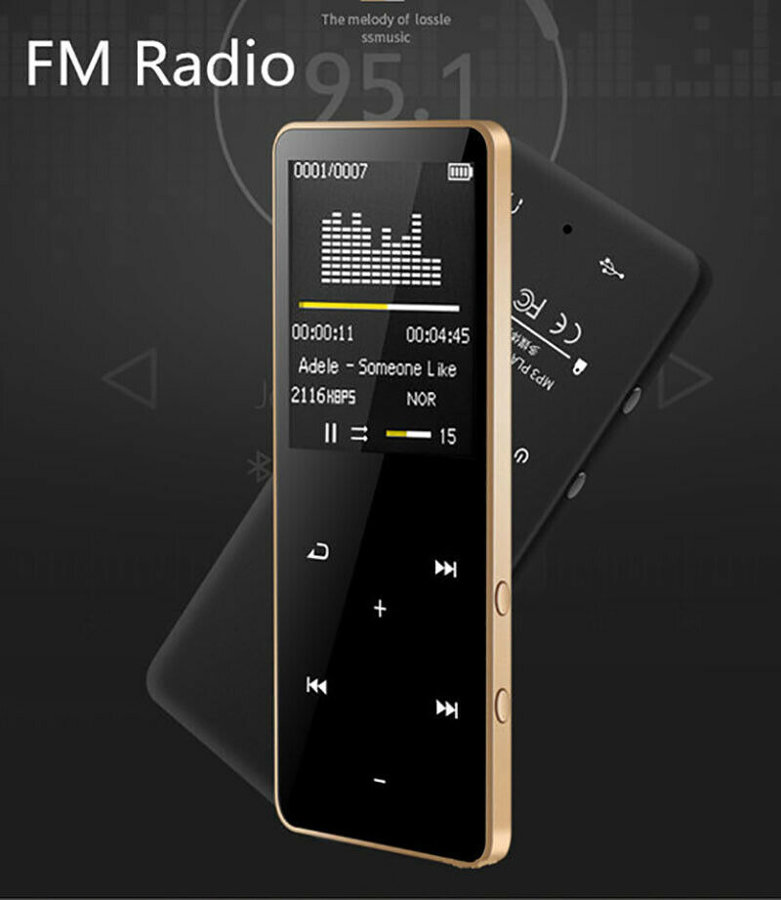 MP3/MP4 Grotuvas su Bluetooth