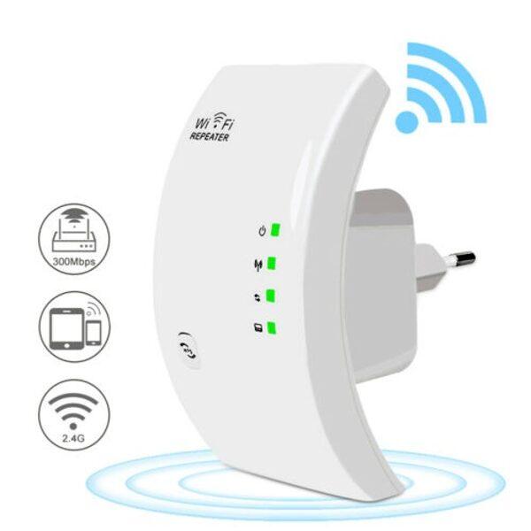 Belaidžio ryšio / Wifi signalo stiprintuvas