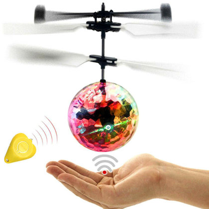Automatic flying ball