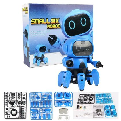Toy robot assembly