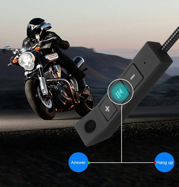 Belaidės ausinės motociklo šalmui