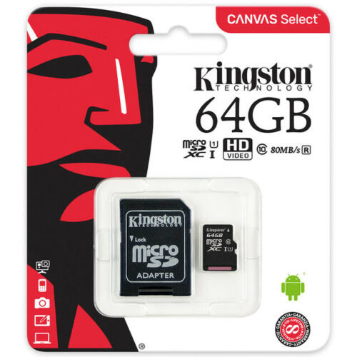 Memory card Kingston 64GB 80Mb/s