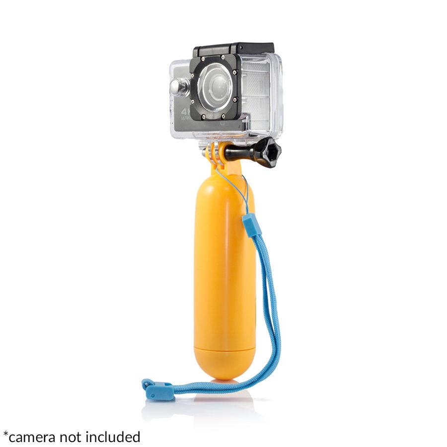 Veiksmo kameros laikiklis / plūduras
