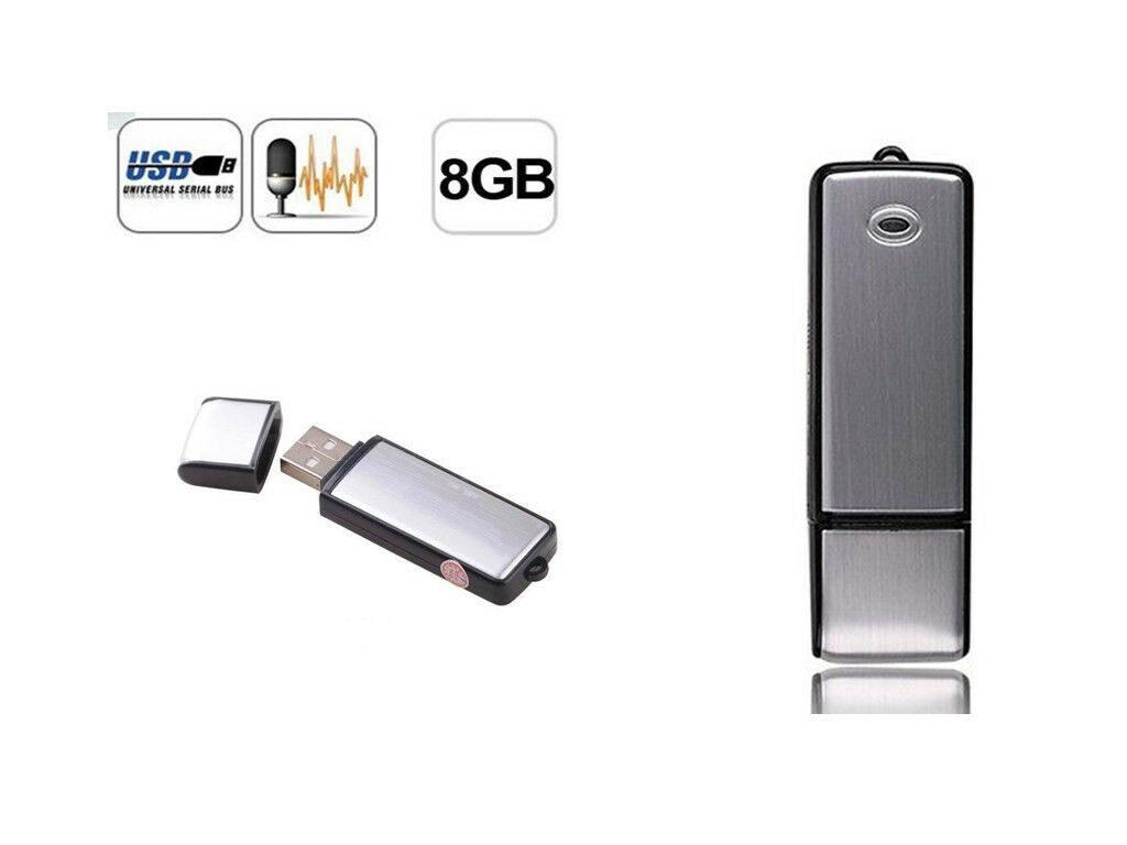 Diktofonas USB raktas 8GB